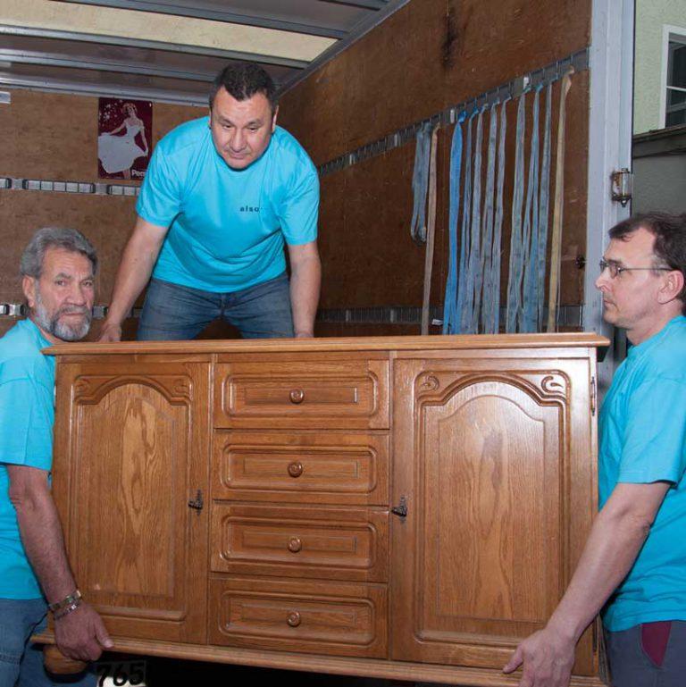 Möbelbörse und Möbeltransport