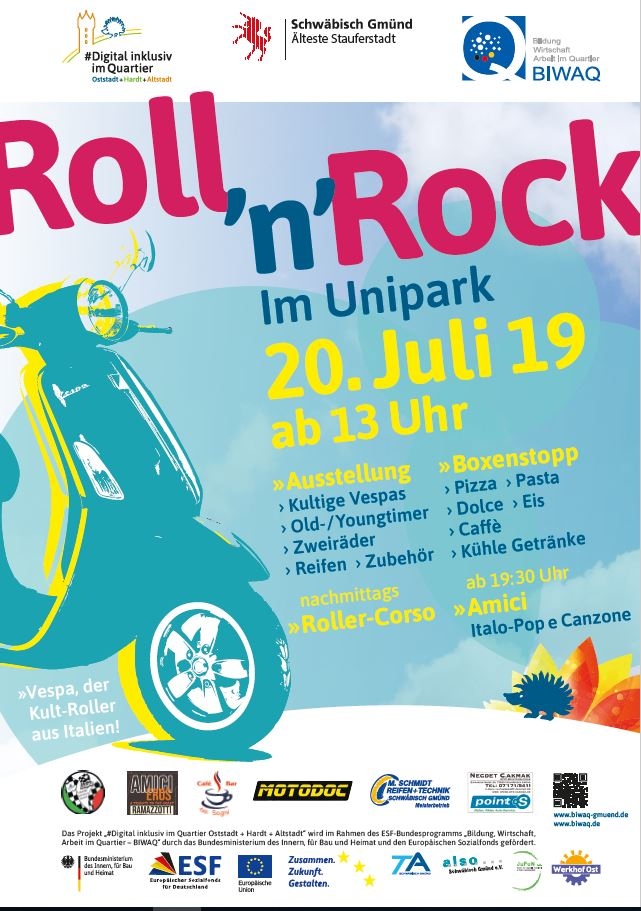 Roll 'n' Rock im Unipark am 20.7.2019