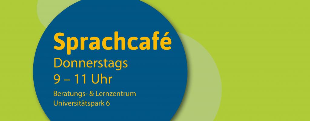 Das Sprachcafe findet Donnerstags zwischen 9 bis 11 Uhr im Universitätspark 6 statt